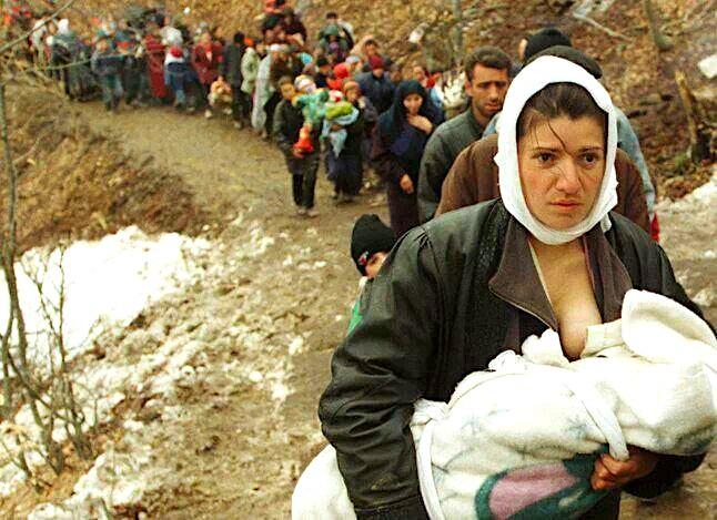 Ikja e popullsive te pambrojtura, nga Genocidi serb 1998