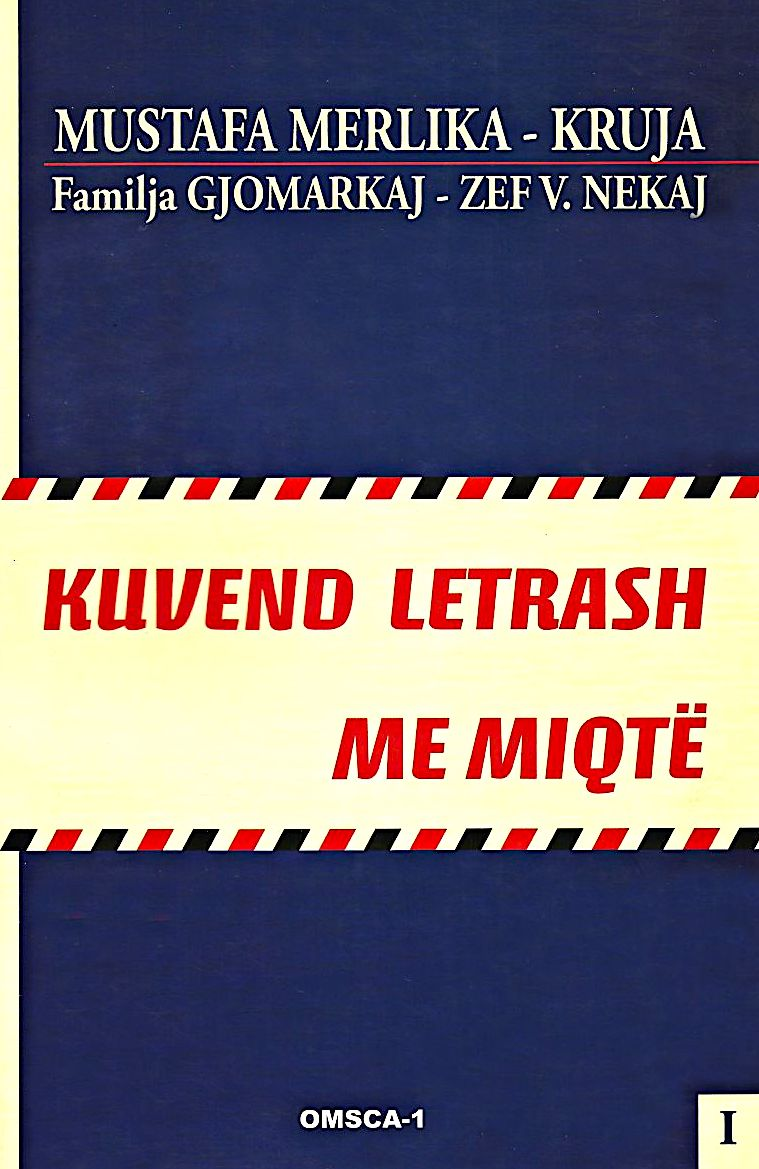 Mustafa Merlika - Kruja - Letra me Miqtë
