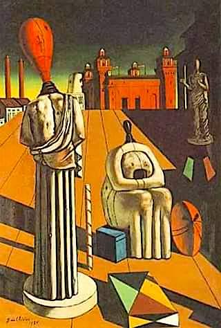 Muzat e Paqeta (The Disquieting Muses) - Giorgio De Chirico