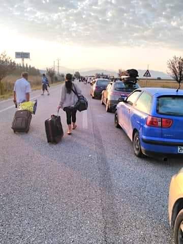 Rradhë kilometrike dhe sakrifica pafund në Kufirin me Greqinë