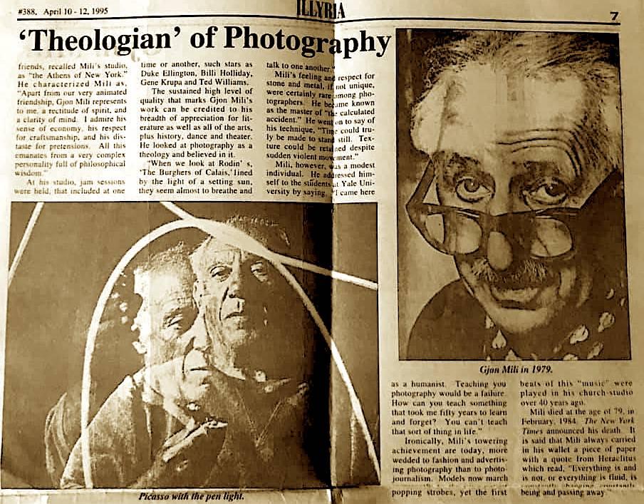 Gjon Mili - Teologu i Fotografisë