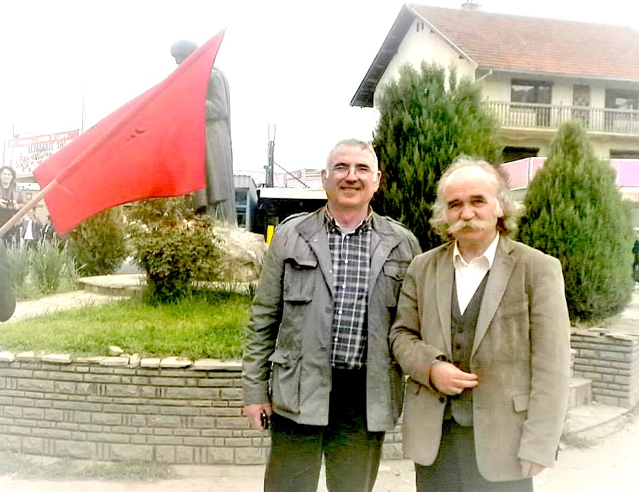 Ndoc Selimi dhe Prend Buzhala ne KlineNdoc Selimi dhe Prend Buzhala ne Kline