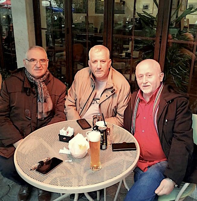 Ndoc Selimi, Jozef Radi, Leon Lekaj, Tirane 22 shkurt 2020