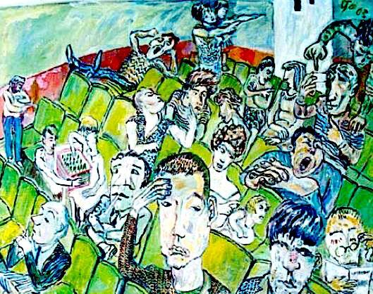 Lekë Tasi - Mbledhje (pikture)