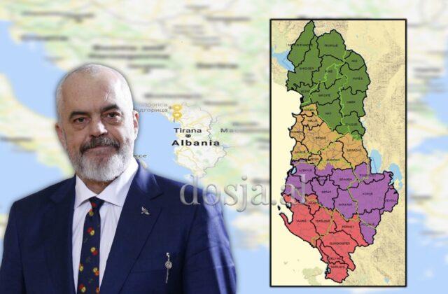 Ndarja e re Rajonale e Shqipërisë dhe Ndarësi