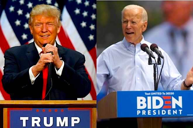 Donald Trump vs Joe Biden - Election 2020