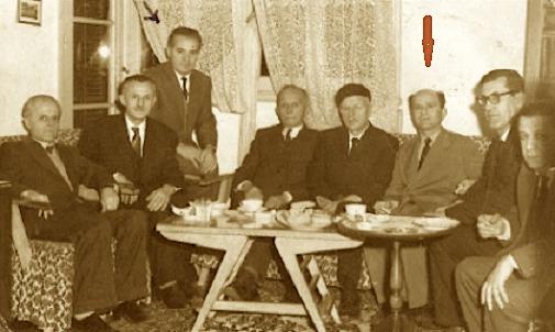 Musa Shehaj, në Kairo te shtëpia e një mikut të tyre