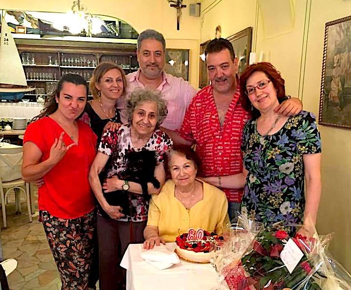 Rozmari Jorganxhi në festë familjare