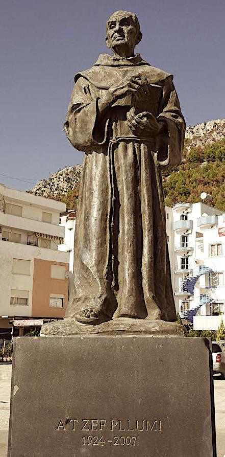 Monumenti i At Zef Pllumit në Shëngjin