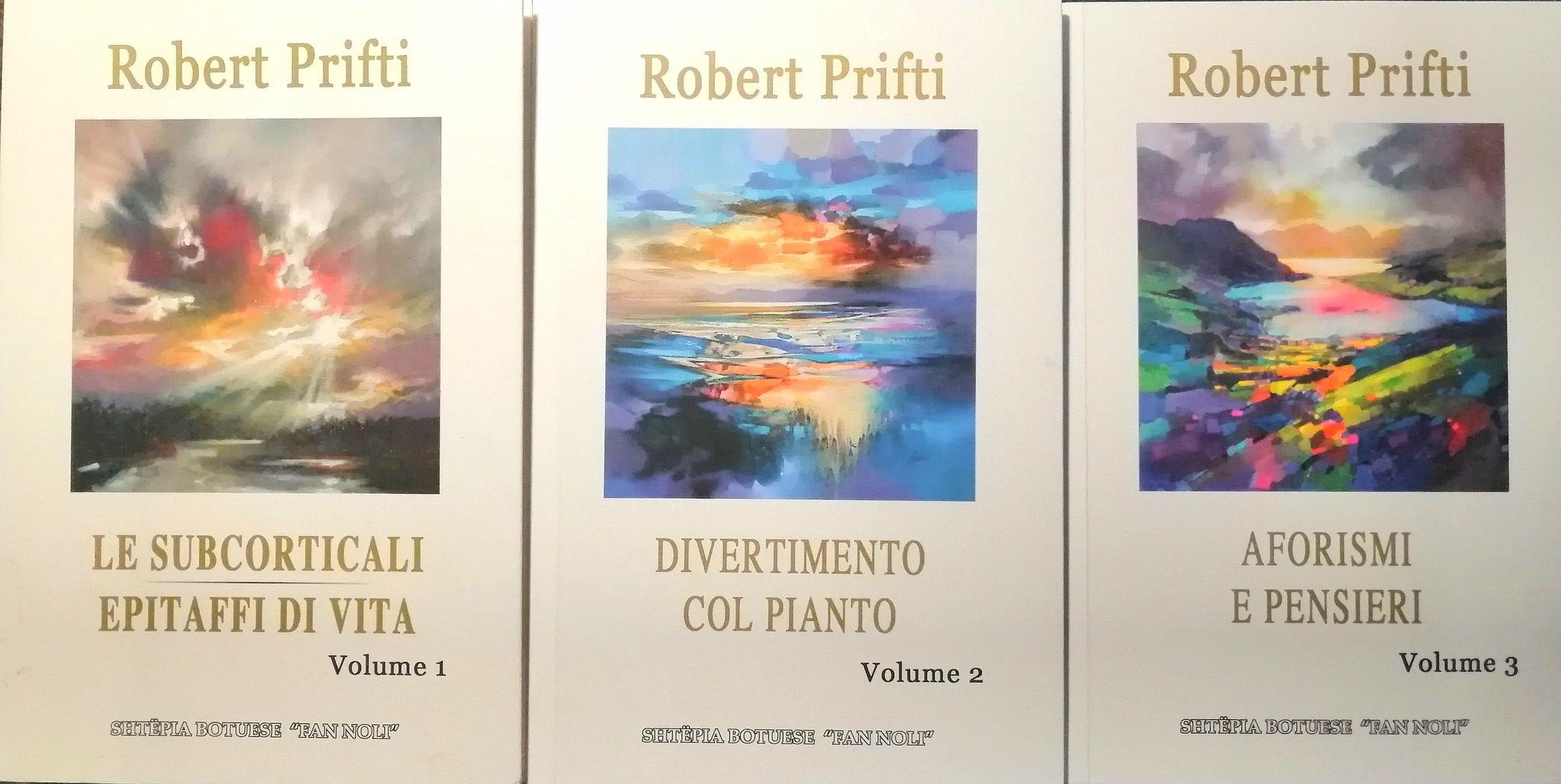 Robert Prifti - Tre vepra te tij Poetika dhe Aforizmat