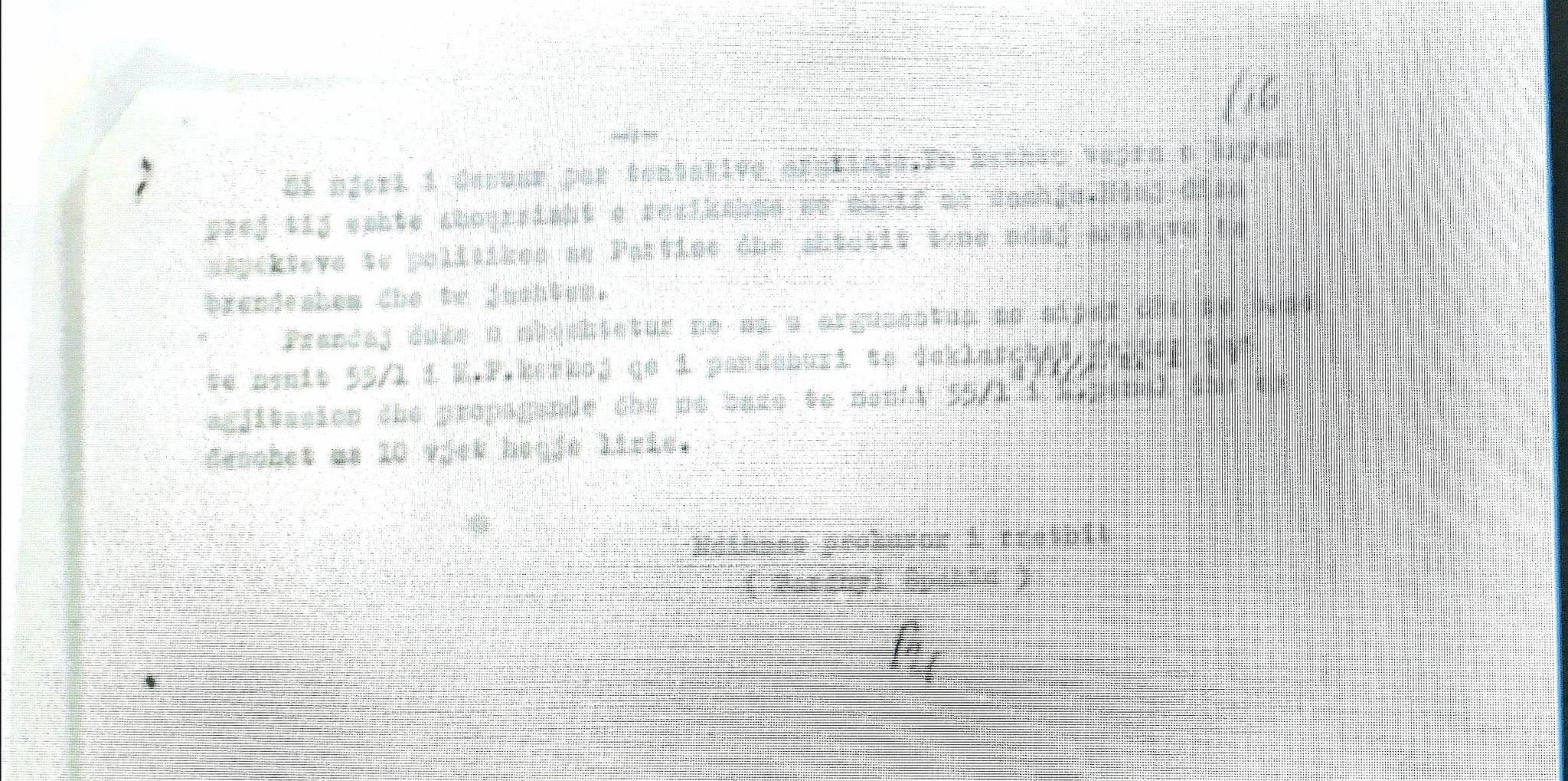 Bardhyl Spahiu - faqja e katert e Pretences kundra Musa Sines