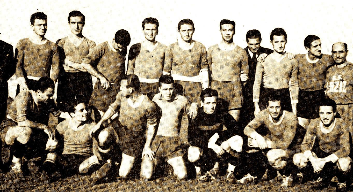 SS. Lazio 1940 - Loro Boriçi i dyti majtas në këmbë