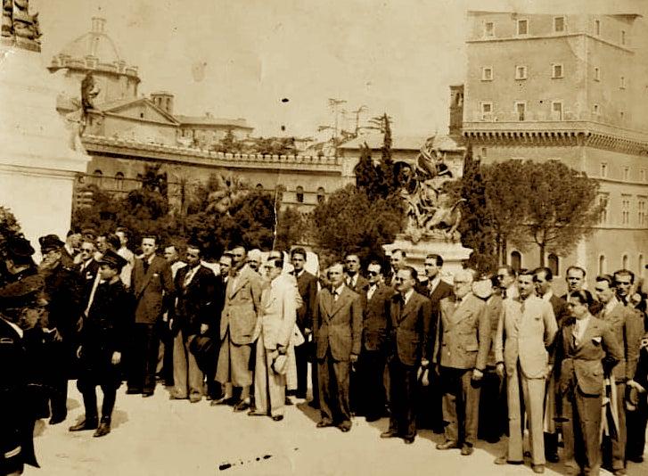Abdyl Sharra në Romë 1940