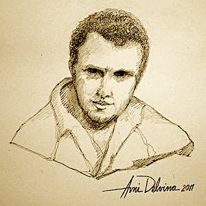 Klement Islami - skice me laps nga Avni Delvina, 2011