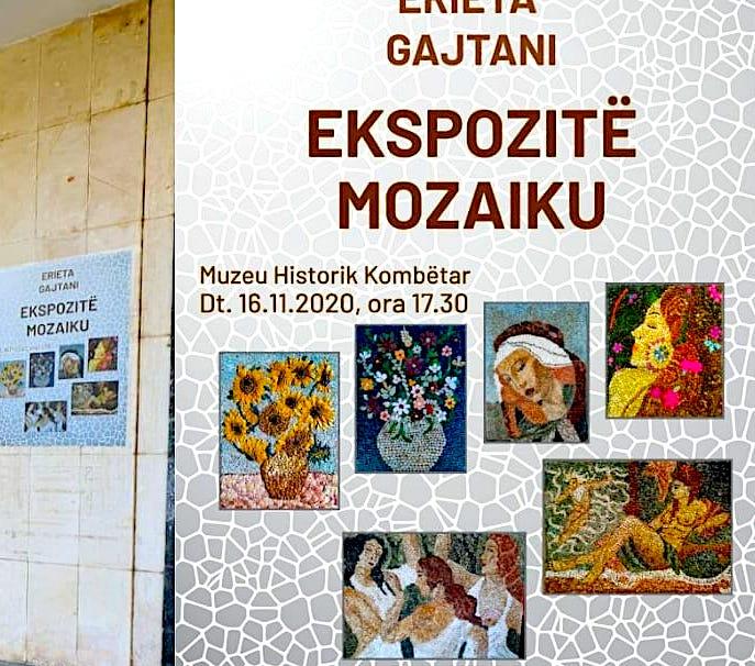 Erieta Koliqi - Gajtani - Ekspozite Mozaiku - 2020