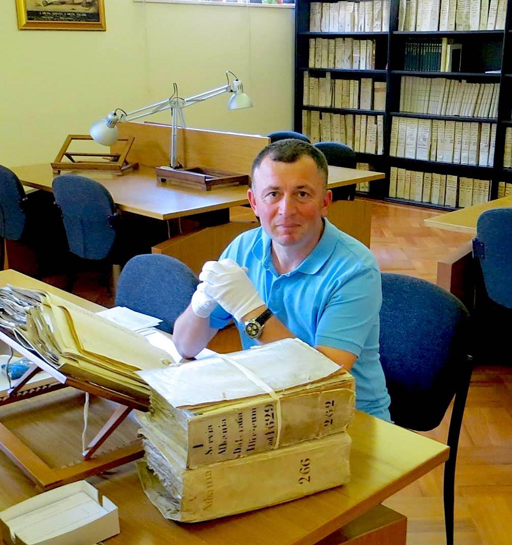 Studiuesi Kastriot Marku ne Arkivat e Vatikanit