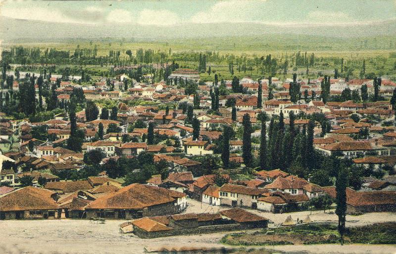 Qyteti i Manastirit kur u mbajt Kongresi-