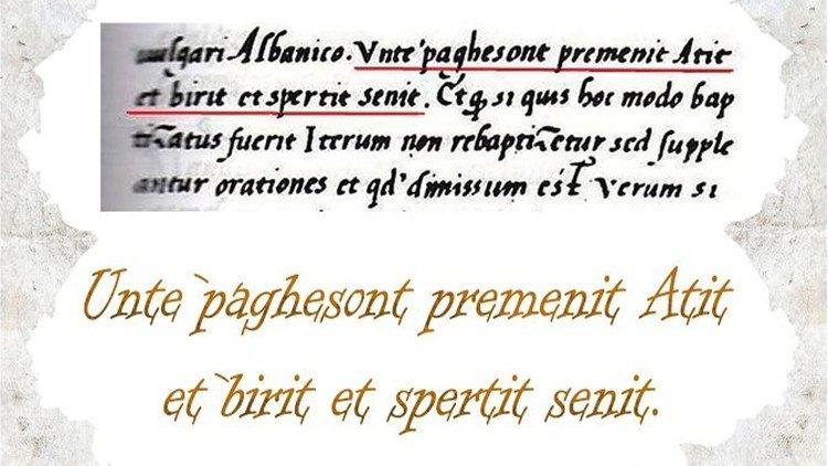 Formula e Pagezimit - 1462