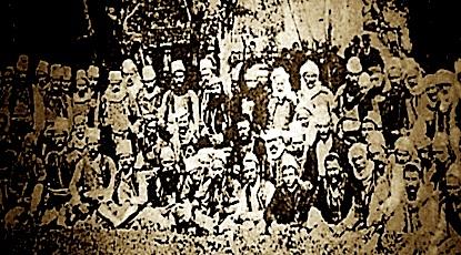 Viti 1913: Komitat e çetave te Martaneshit, te Byshekut dhe të Malësisë së Madhe në luftën e Shkodrës, kundër malazezëve.