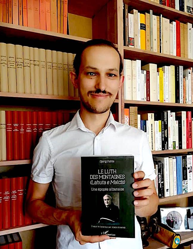 Abidin Krasniqi dhe Lahuta e Malcis, përkthyer prej tij në frëngjisht