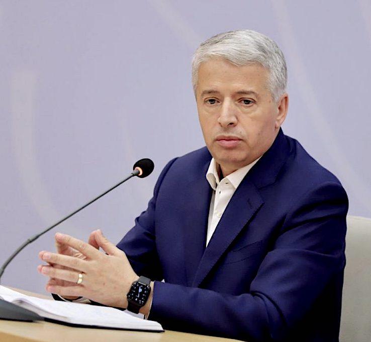Gjen. Sander Lleshaj Minister i Brendshem (16 nëntor 2018 – 10 dhjetor 2020)