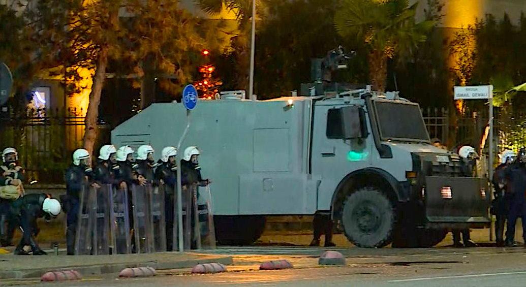 Policia në rrugët e Tiranës - Dhjetor 2020