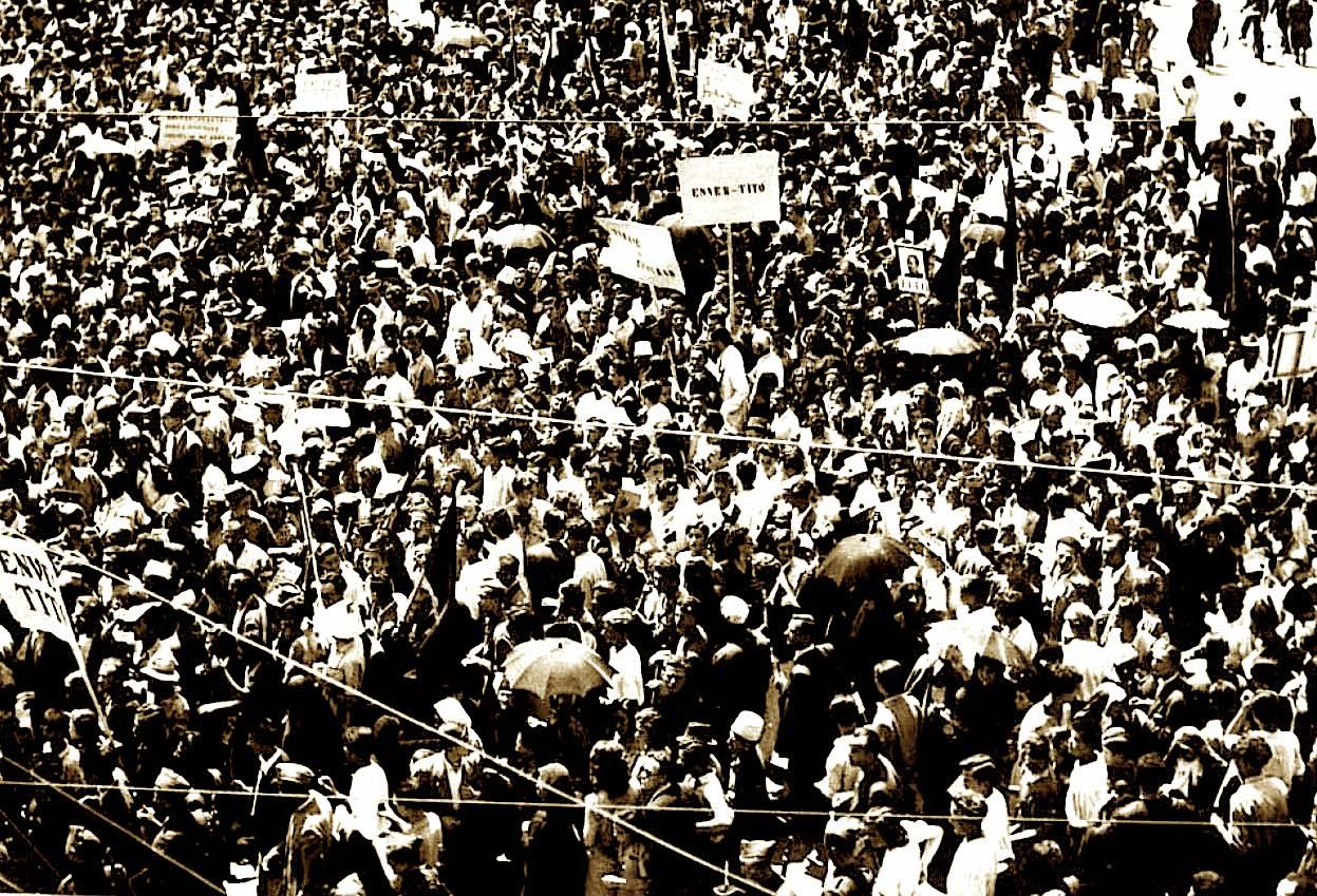 Në mbështetje të Titos dhe Jugosllavisë