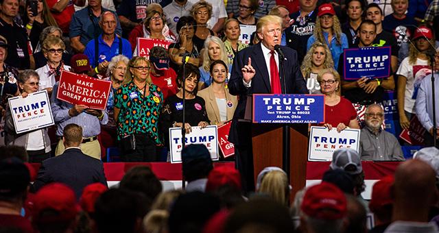 Trump duke folur për emigrimin
