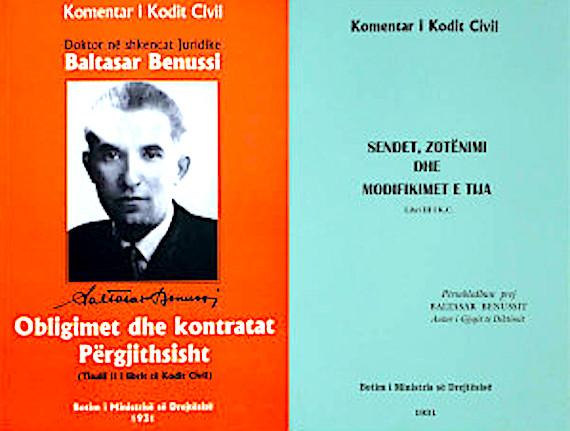 Baltazar Benussi - Vepra te tij