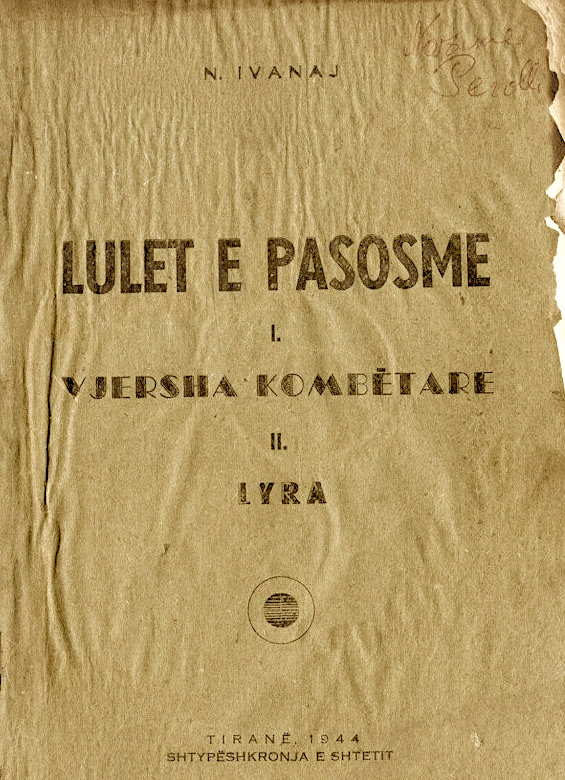 """Nikolle Ivanaj - """"Lulet e pasosme"""" - Poezi"""