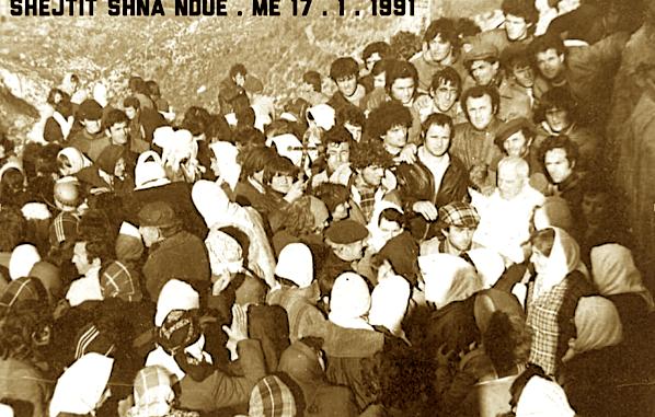 Pader Leon Kabashi - Kisha e Shnandout - 17 janar 1991