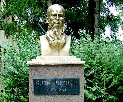 Busti i Gjon Buzukut