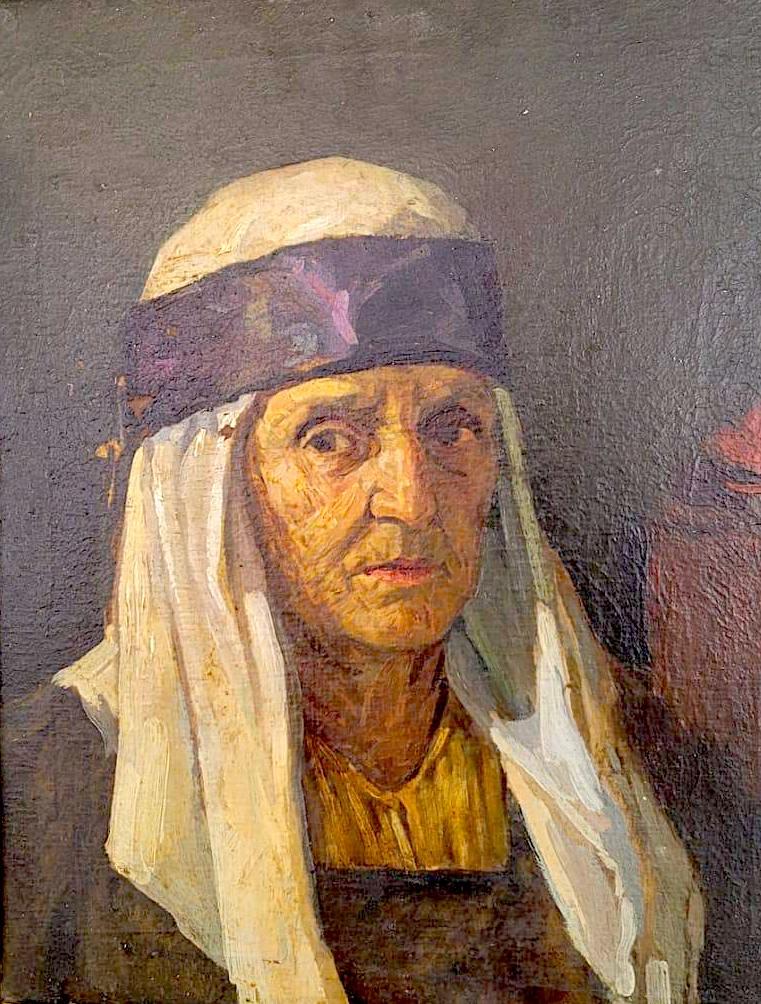 Zef Ujkaj - Portreti i Gjyshes