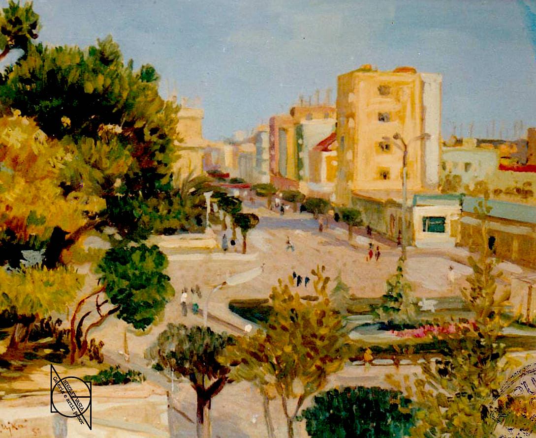 Zef Ujkaj - Pamje e qytetit