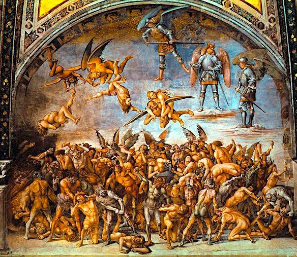 Gjyqi i fundit i Shën Gjonit - bazilike italiane