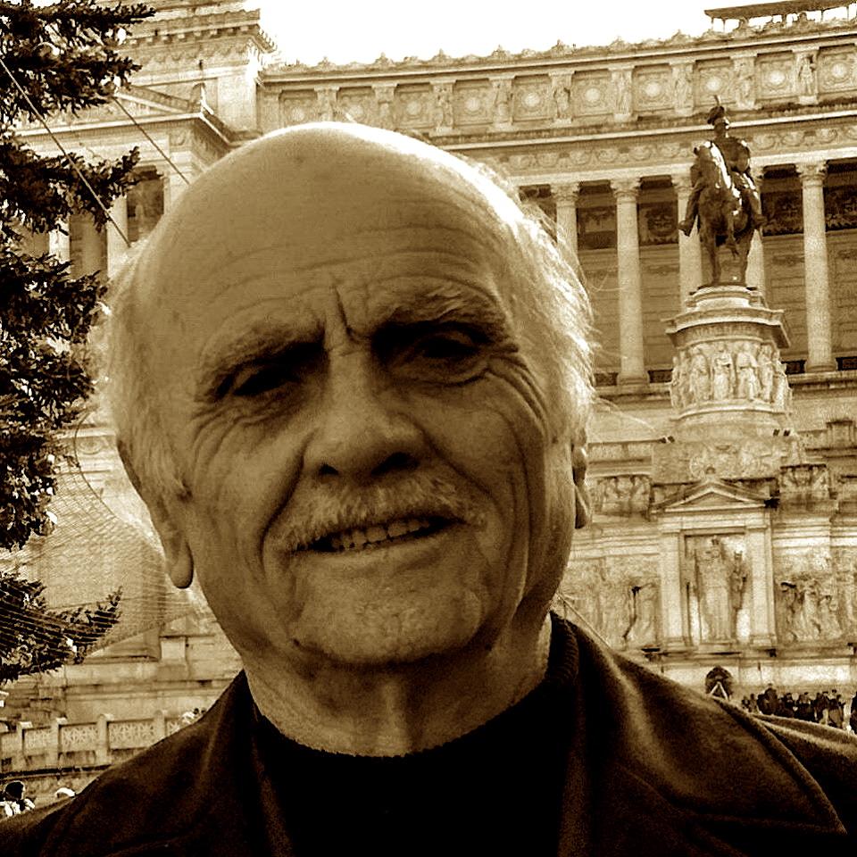 Fatmir Sollaku në Romë përpara Altarit të Atdheut - Vittoriano