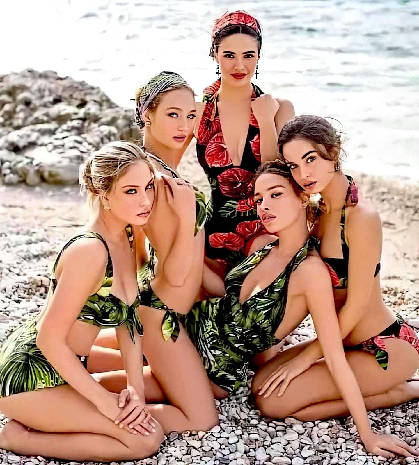 Pesë fotomodelet shqiptare të Dolce&Gabbanas
