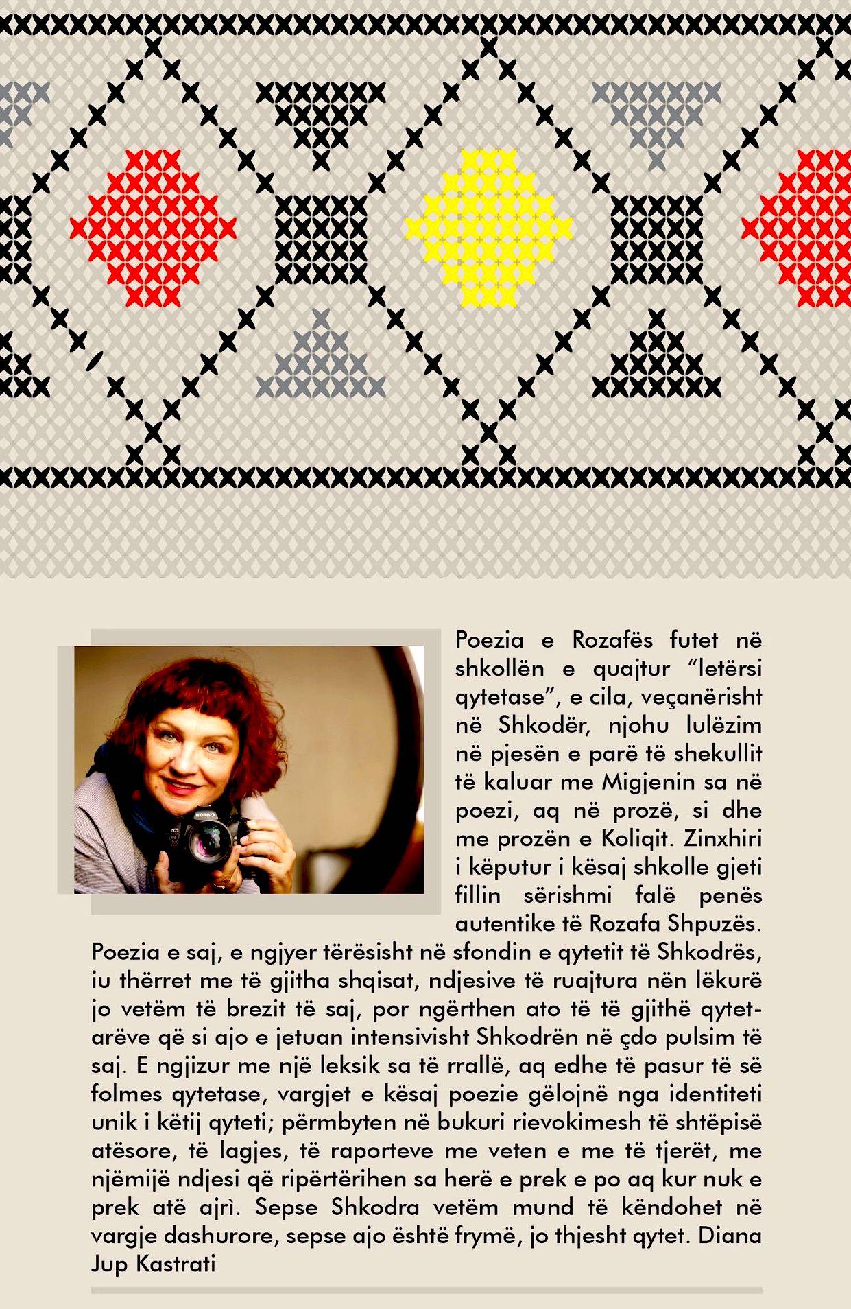 Rozafa Shpuza - Nana i qindiste kryq dimnat - Poezi
