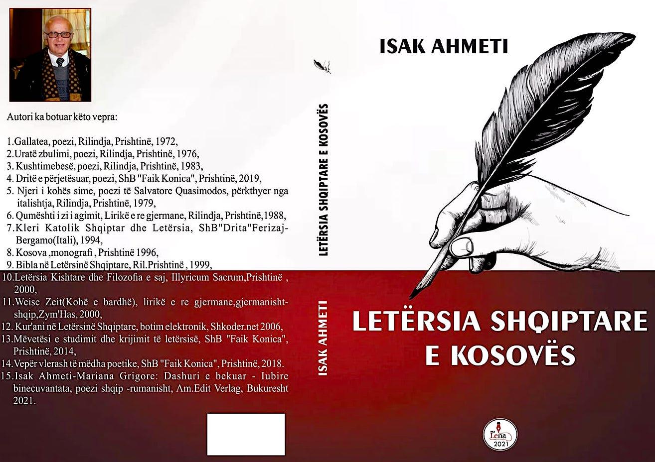"""Isak Ahmeti - """"Letërsia Shqiptare e Kosovës"""""""