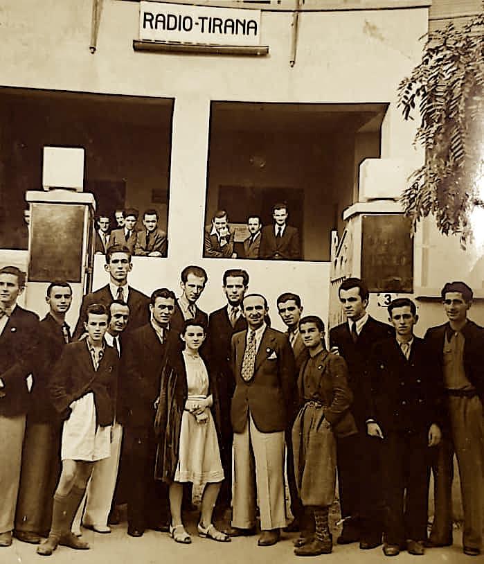 Ramadan Sokoli dhe Safete Sokoli ne Radio Tirana - 1940
