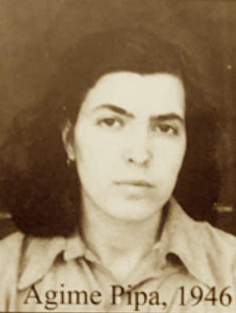 Agime Pipa - Gjate hetuesise 1946 - Marre nga Dosja