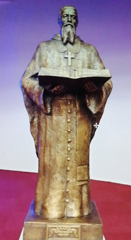 Imzot Pjetër Bogdani, në Katedralen Nënë Tereza, në Prishtinë