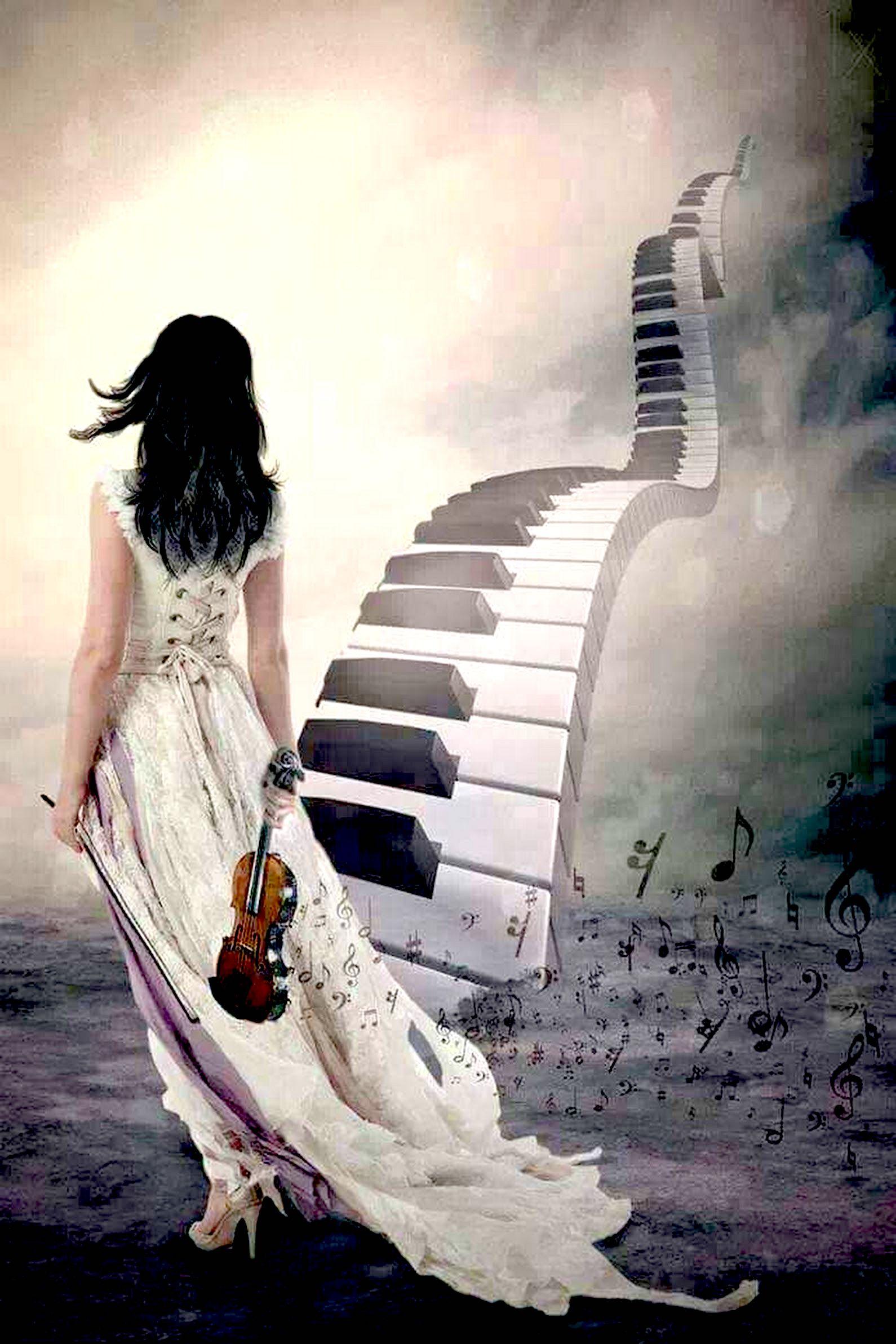 Muzika është një rrugë drejt qiellit
