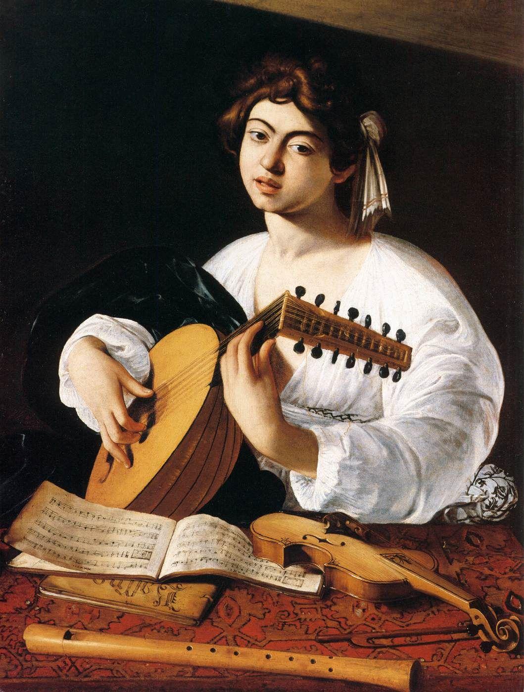 Caravaggio - Vajza qe i bie Liutes