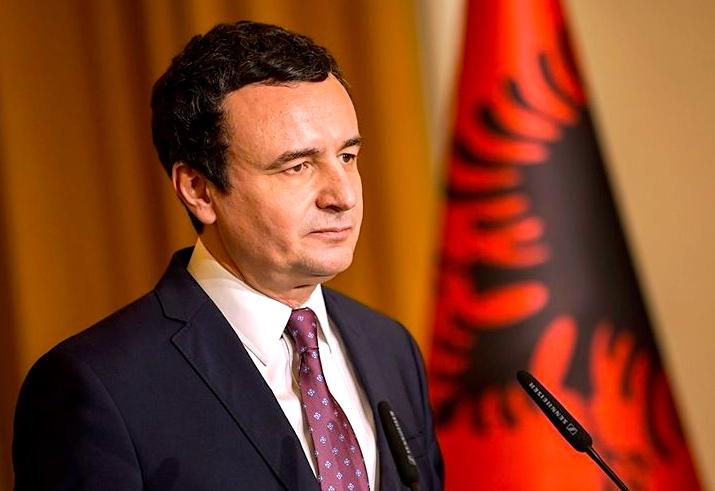 Albin Kurti  - Kryeministër i Kosovës