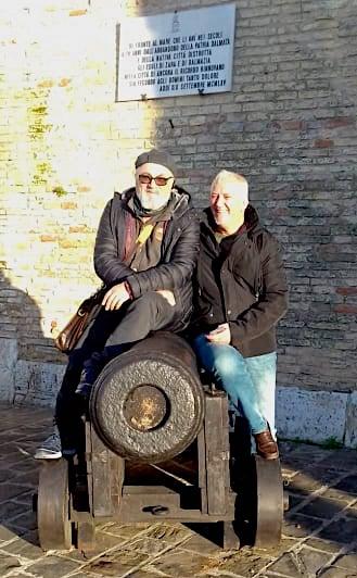 Shpend Sollaku dhe Jozef Radi - Ancona 25 dhjetor 2019