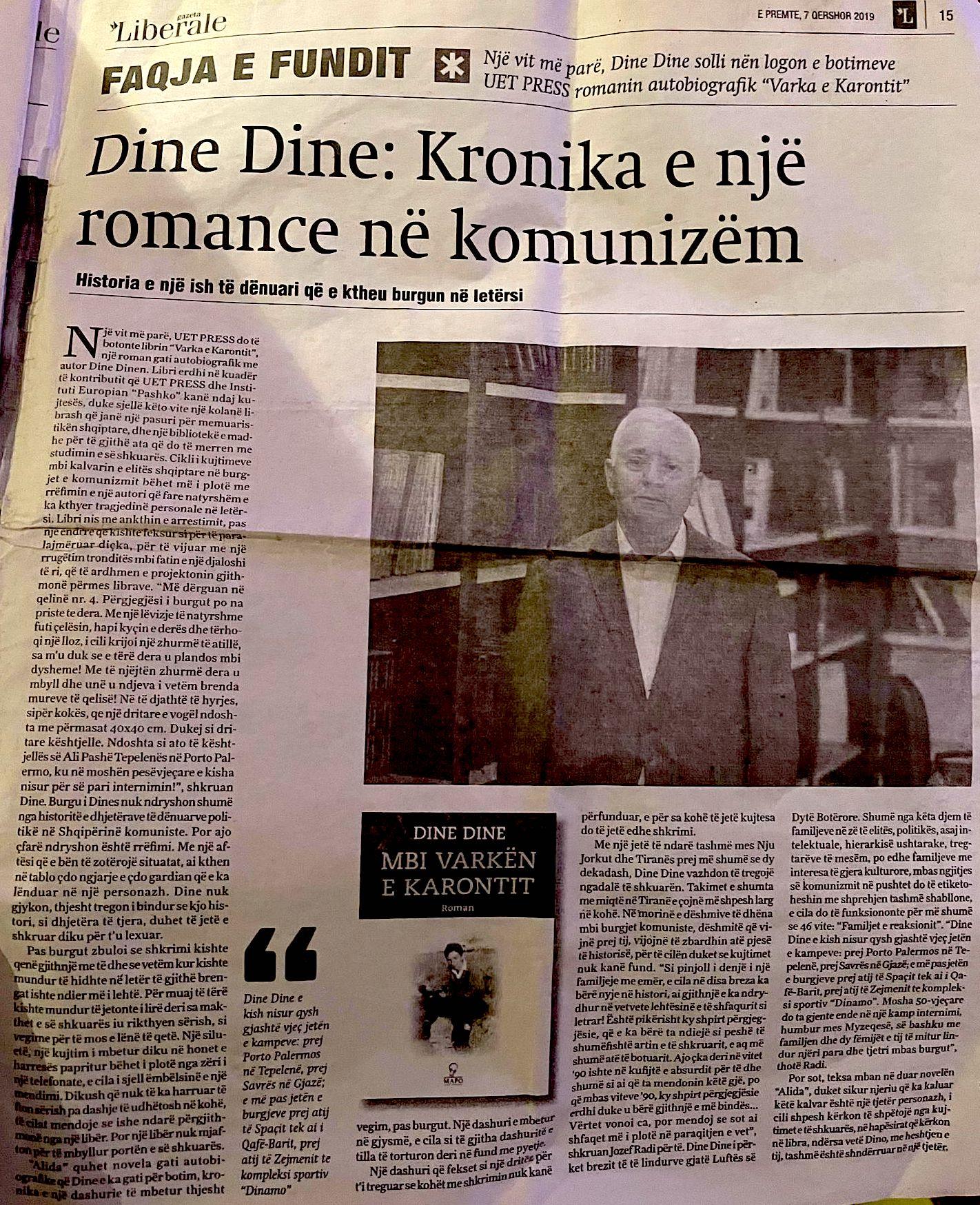 Dine Dine - Gazeta Liberal