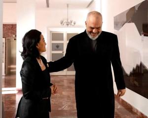 Kryeministri Rama dhe Ambasadorja Juri Kim