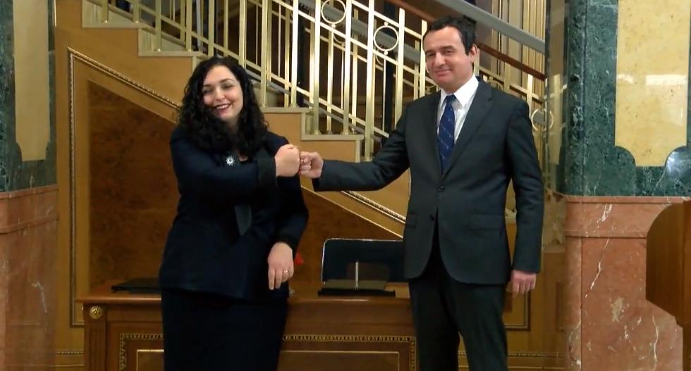 Presidente Vjosa & Kryeminister Albini