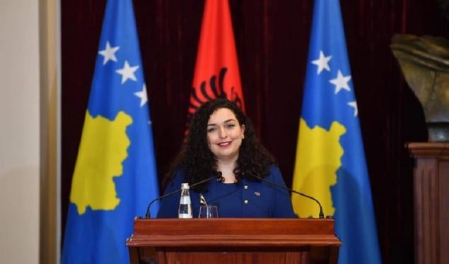 Vjosa Osmani - Presidente e Republikës së Kosovës